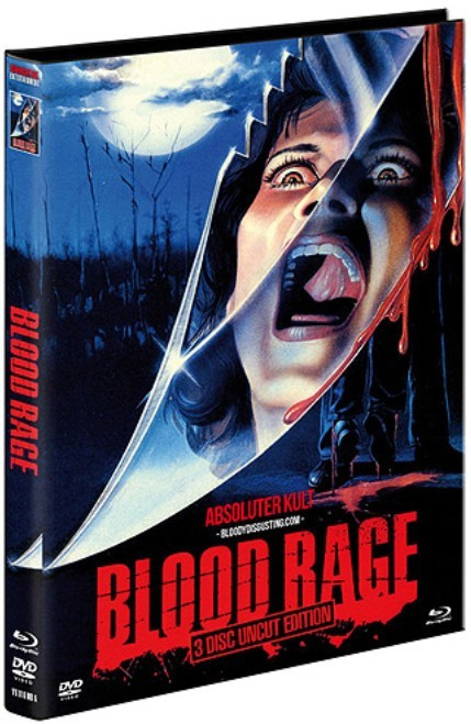 Blood Rage - Limited Mediabook Edition - Cover A [Blu-ray+DVD]