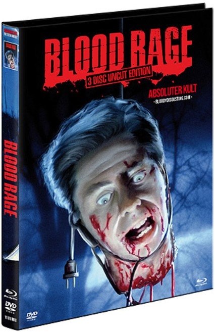 Blood Rage - Limited Mediabook Edition - Cover B [Blu-ray+DVD]