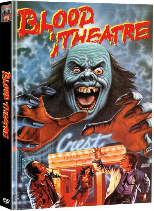 Blood Theatre - Limited Mediabook Edition (Super Spooky Stories #40) [DVD]