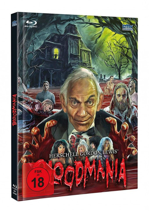 Herschell Gordon Lewis BloodMania - Limited Mediabook [Blu-ray+DVD]