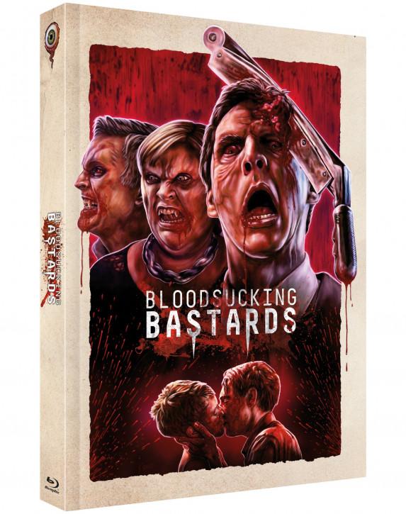 Bloodsucking Bastards - Limited Mediabook - Cover B [Blu-ray+DVD]