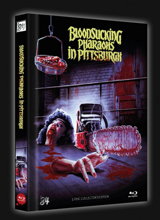Bloodsucking Pharaohs in Pittsburgh - Limited Collector's Edition - Cover A [Blu-ray+DVD]