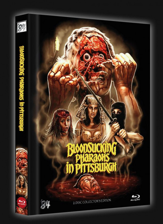 Bloodsucking Pharaohs in Pittsburgh - Limited Collector's Edition - Cover B [Blu-ray+DVD]