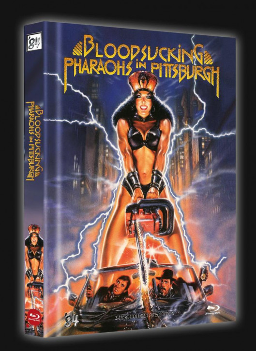 Bloodsucking Pharaohs in Pittsburgh - Limited Collector's Edition - Cover D [Blu-ray+DVD]