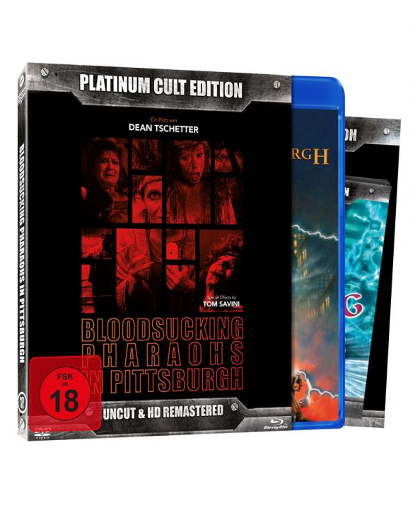 Bloodsucking Pharaohs in Pittsburgh (Platinum-Cult-Edition) [Blu-ray+DVD]