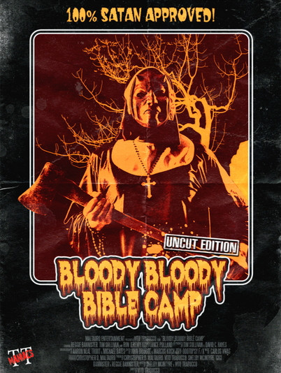 Bloody Bloody Bible Camp - Limited Mediabook Edition - Cover B [Blu-ray+DVD]