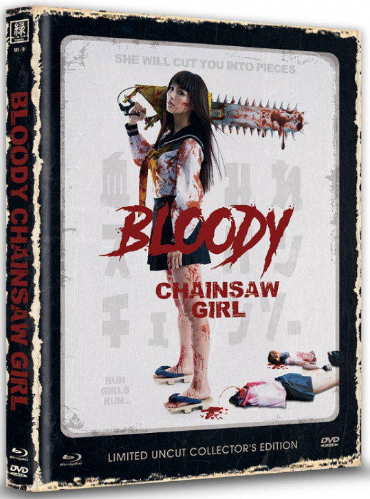 Bloody Chainsaw Girl - Limited Mediabook Edition (OmU) - Cover C [Blu-ray+DVD]