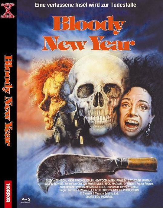 Bloody New Year - kleine Hartbox [Blu-ray]
