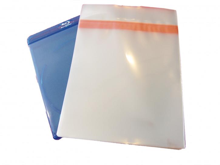 100 Blu-Ray Schutzhüllen 11mm