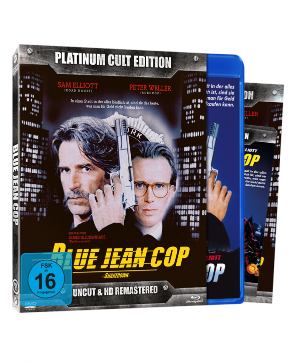 Blue Jean Cop (Platinum-Cult-Edition) [Blu-ray+DVD]