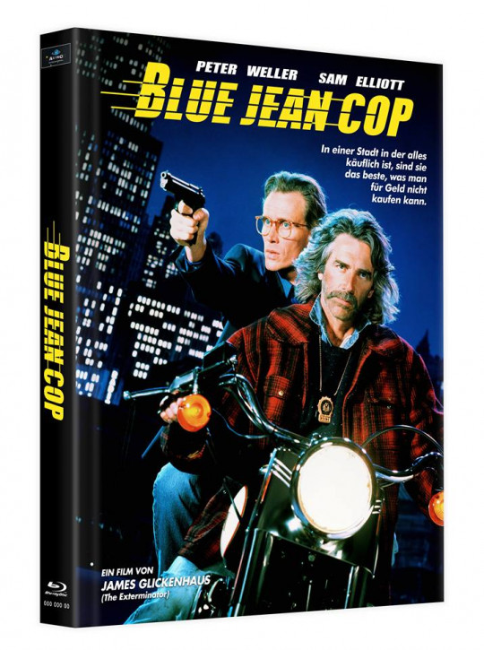 Blue Jean Cop - Mediabook - Cover B [Blu-ray]