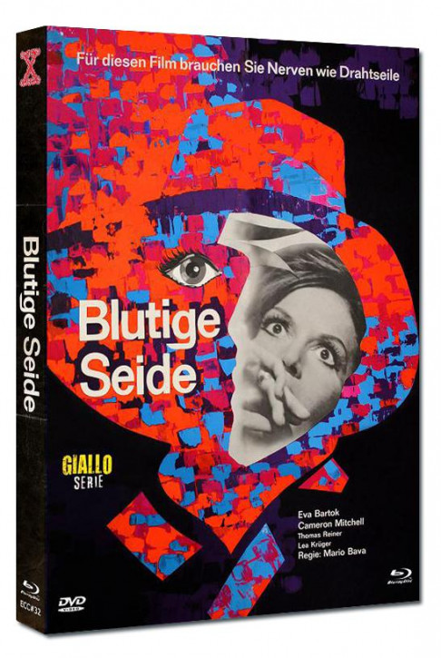 Blutige Seide - Eurocult Collection #032 - Mediabook - Cover A [Blu-ray+DVD]