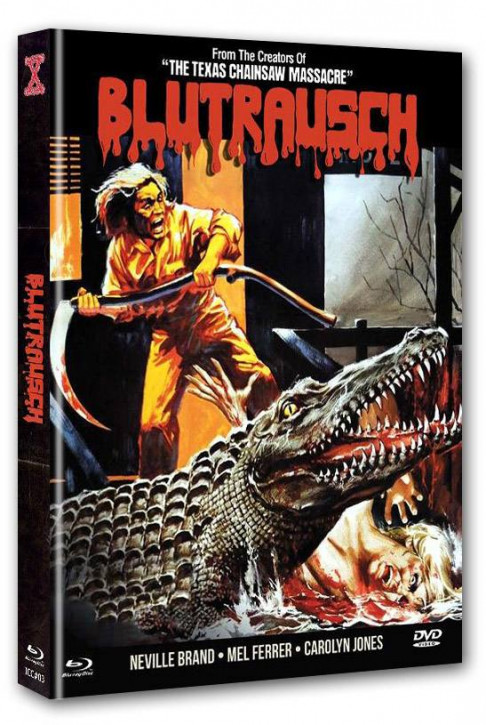 Blutrausch - Eaten Alive - International Cult Collection #003 - Mediabook - Cover A [Blu-ray+DVD]