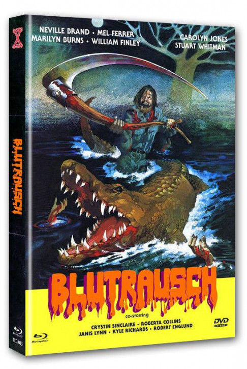 Blutrausch - Eaten Alive - International Cult Collection #003 - Mediabook - Cover B [Blu-ray+DVD]