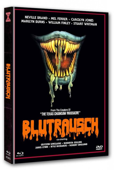 Blutrausch - Eaten Alive - International Cult Collection #003 - Mediabook - Cover D [Blu-ray+DVD]