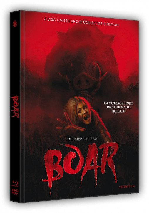 Boar - Limited Collectors Edition- Cover B [Blu-ray+DVD]