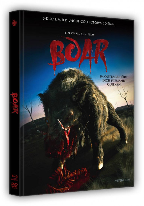 Boar - Limited Collectors Edition- Cover C [Blu-ray+DVD]