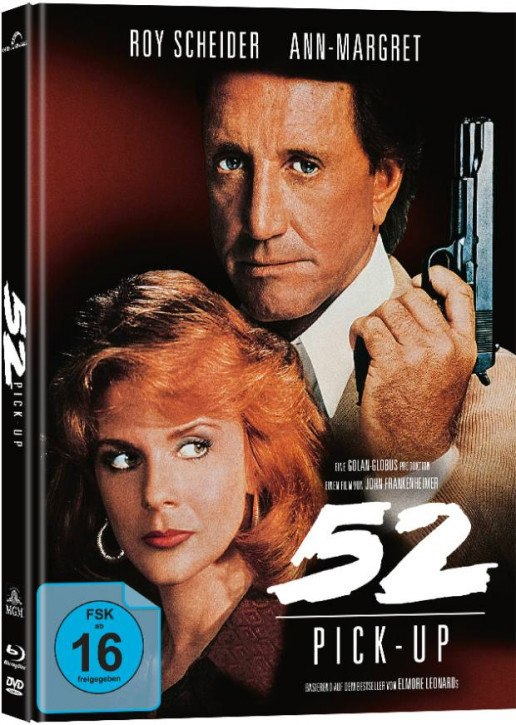 52 Pick Up - Limitied Mediabook Edition [Blu-ray+DVD]