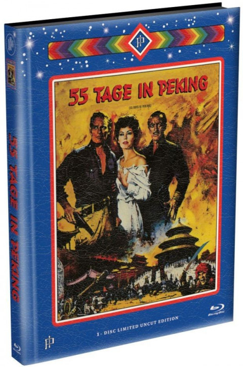 55 Tage in Peking - Mediabook [Blu-ray]