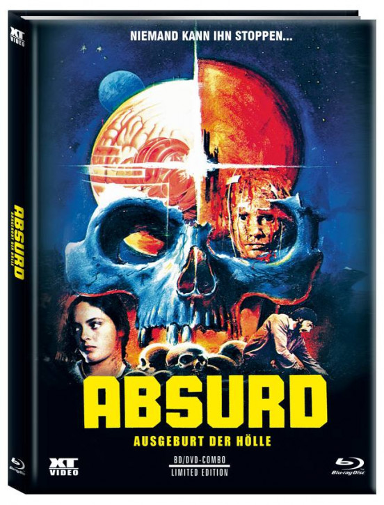 Absurd - Limited Mediabook - Cover B [Blu-ray+DVD]