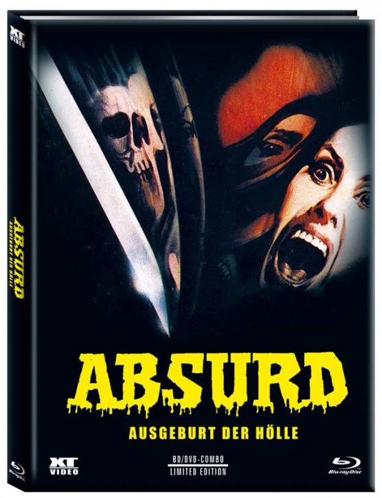 Absurd - Limited Mediabook - Cover C [Blu-ray+DVD]
