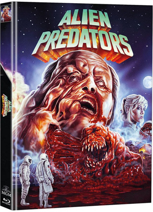 Alien Predators - Limited Mediabook Edition - Cover A (Super Spooky Stories #128) [Blu-ray+DVD]