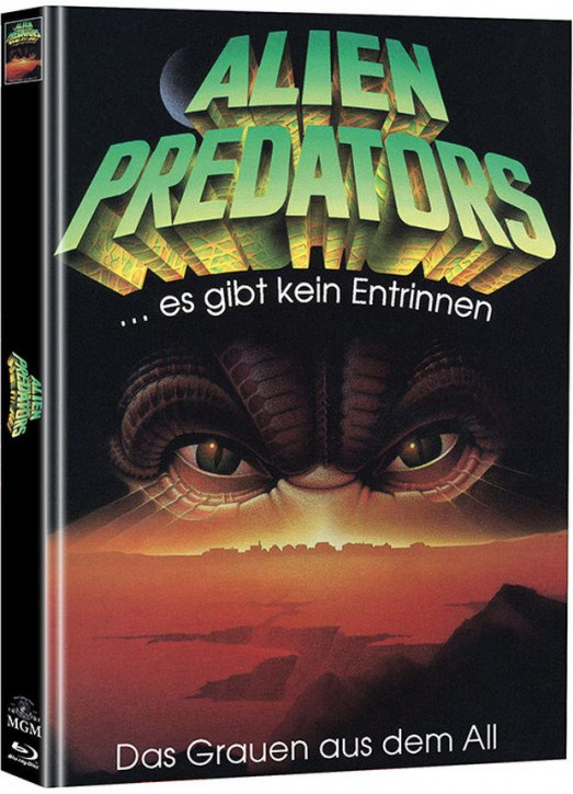 Alien Predators - Limited Mediabook Edition - Cover B (Super Spooky Stories #128) [Blu-ray+DVD]