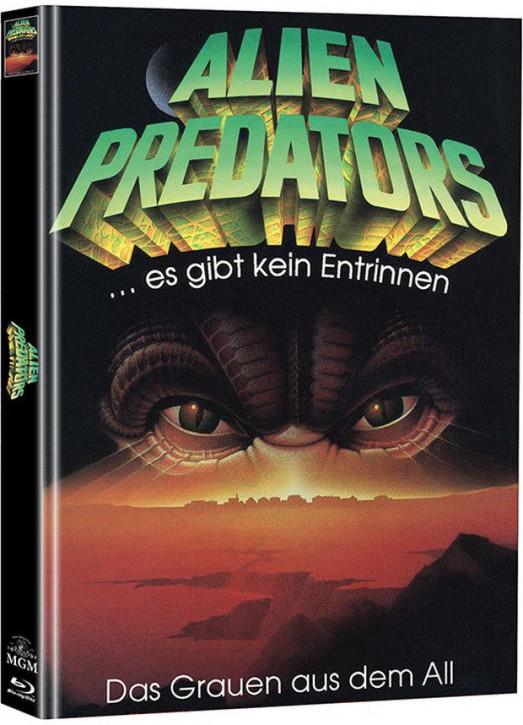 Alien Predators - Limited Mediabook Edition - Cover B (Super Spooky Stories #128) [Blu-ray+DVD]