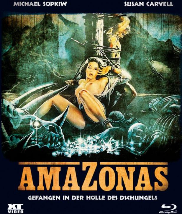 Amazonas - Gefangen in der Hölle des Dschungels - BD Hartbox [Blu-ray]