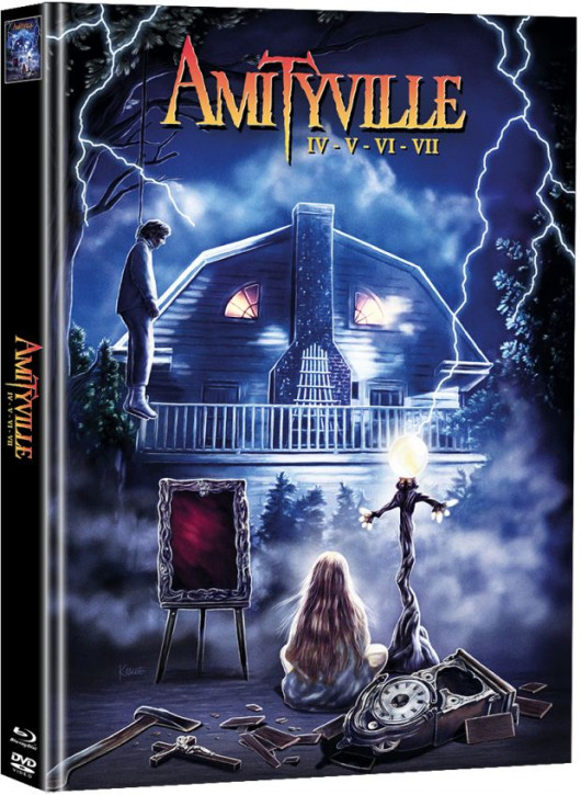 Amityville IV-VII - Limited Mediabook Edition  (Super Spooky Stories #120) [Blu-ray+DVD]