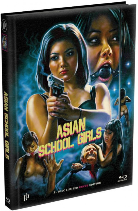 Asian School Girls - Mediabook - Cover A [Blu-ray+DVD]