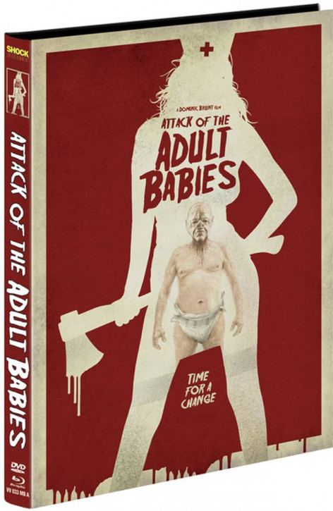 Attack of the Adult Babies - Limited Mediabook Edition - Cover A [Blu-ray+DVD]