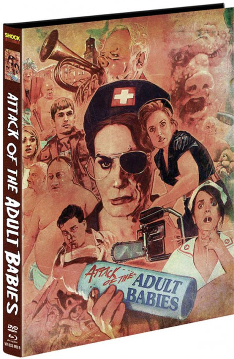 Attack of the Adult Babies - Limited Mediabook Edition - Cover B [Blu-ray+DVD]