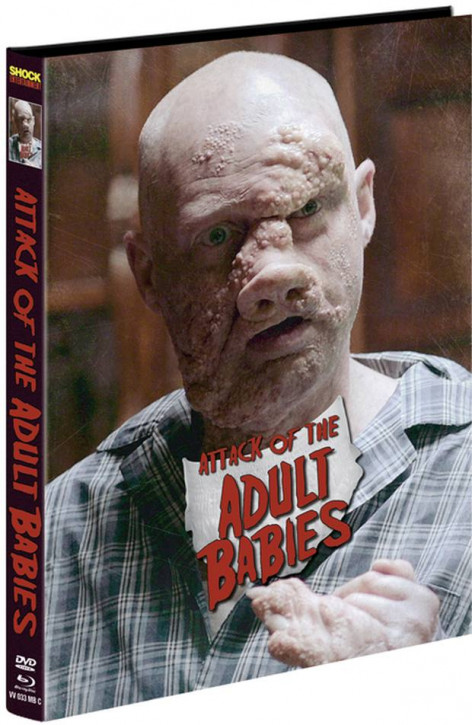 Attack of the Adult Babies - Limited Mediabook Edition - Cover C [Blu-ray+DVD]