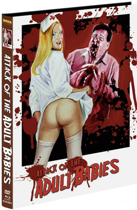 Attack of the Adult Babies - Limited Mediabook Edition - Cover E [Blu-ray+DVD]