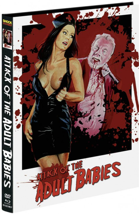 Attack of the Adult Babies - Limited Mediabook Edition - Cover F [Blu-ray+DVD]