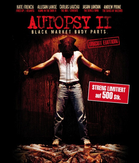 Autopsy II - Black Market Body Parts - Limited Edition [Blu-ray]