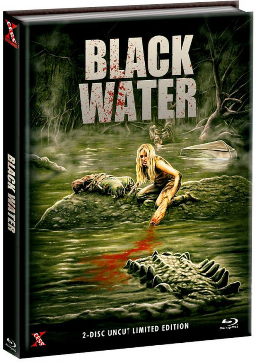 Black Water - Mediabook - Cover C [Bluray+DVD]