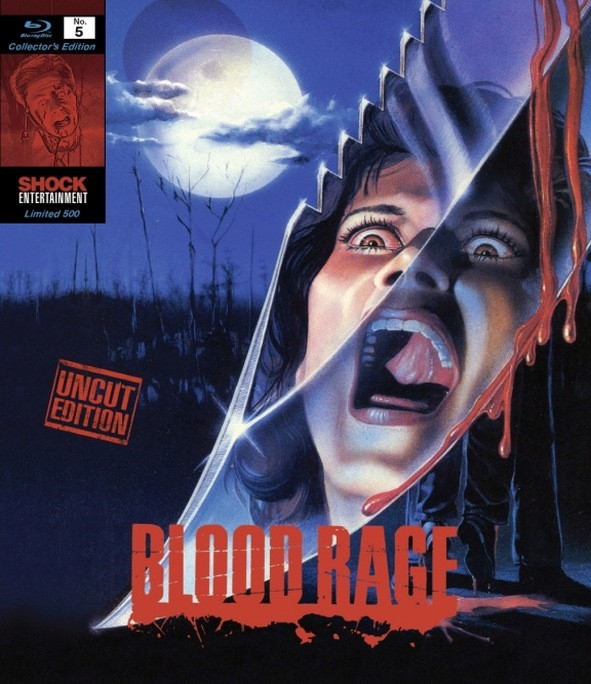 Blood Rage - Collectors Edition Nr. 5 (Uncut) [Blu-ray]