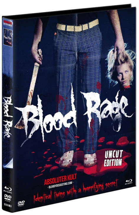 Blood Rage - Limited Mediabook Edition - Cover D [Blu-ray+DVD]