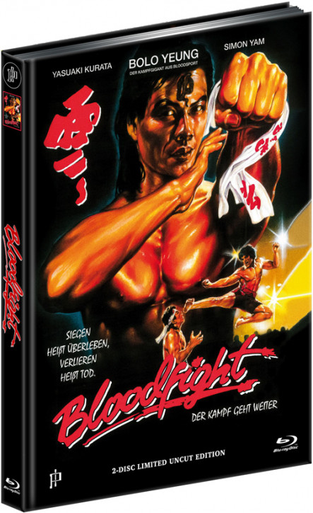 Bloodfight - Mediabook - Cover A [Blu-ray+DVD]
