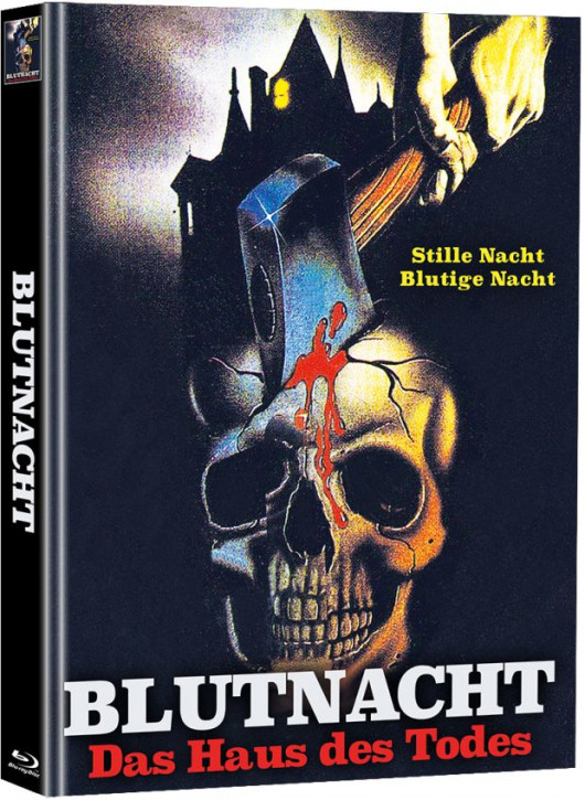 Blutnacht - Das Haus des Todes - Limited Mediabook Edition  (Super Spooky Stories #99) [Blu-ray]