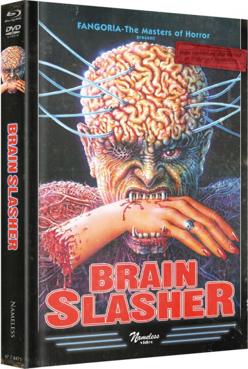 Brain Slasher - Limited Mediabook Edition - Cover D [Blu-ray+DVD]