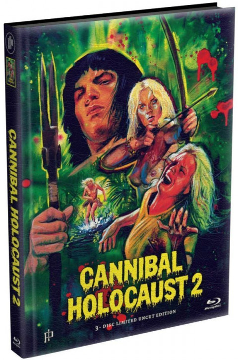 Cannibal Holocaust 2 - Mediabook [Blu-ray+DVD]