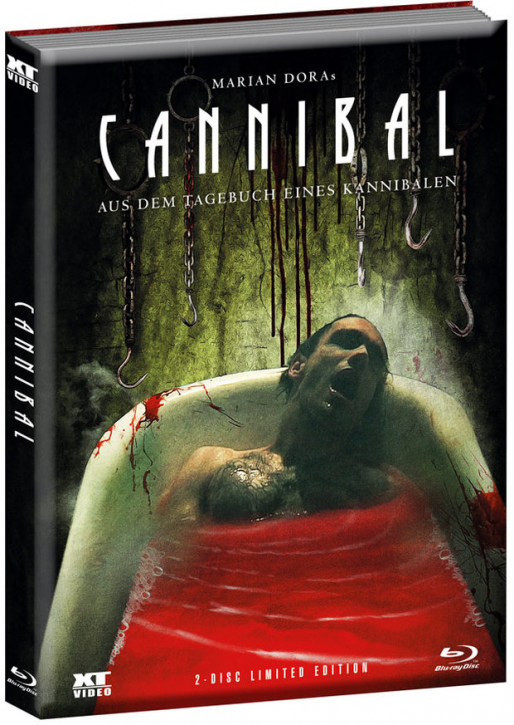 Cannibal - Aus dem Tagebuch eines Kannibalen - Limited Edition [Blu-ray+DVD]