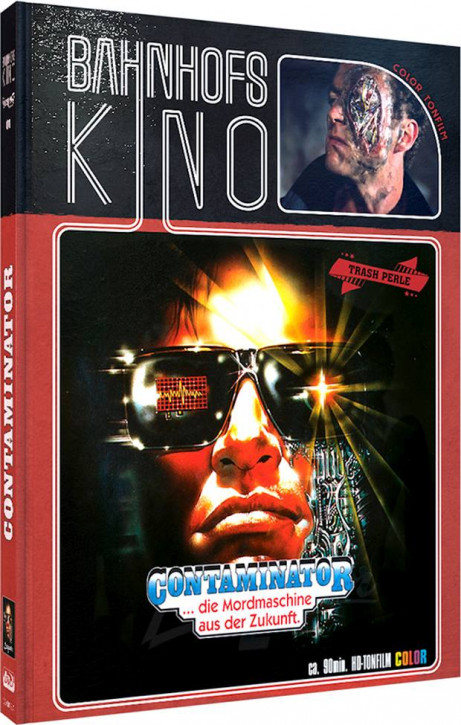 Contaminator - Limited Mediabook Edition - Cover A [Blu-ray+DVD]