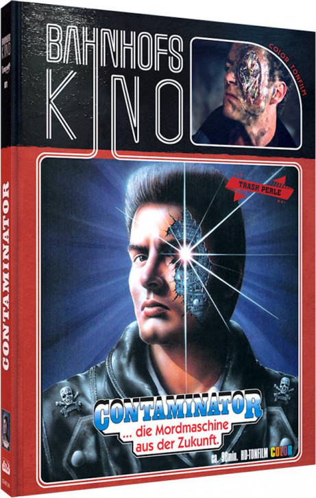 Contaminator - Limited Mediabook Edition - Cover B [Blu-ray+DVD]