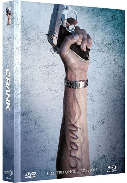 Crank - Limited Mediabook Edition - Cover A [Blu-ray+DVD]
