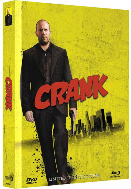 Crank - Limited Mediabook Edition - Cover C [Blu-ray+DVD]