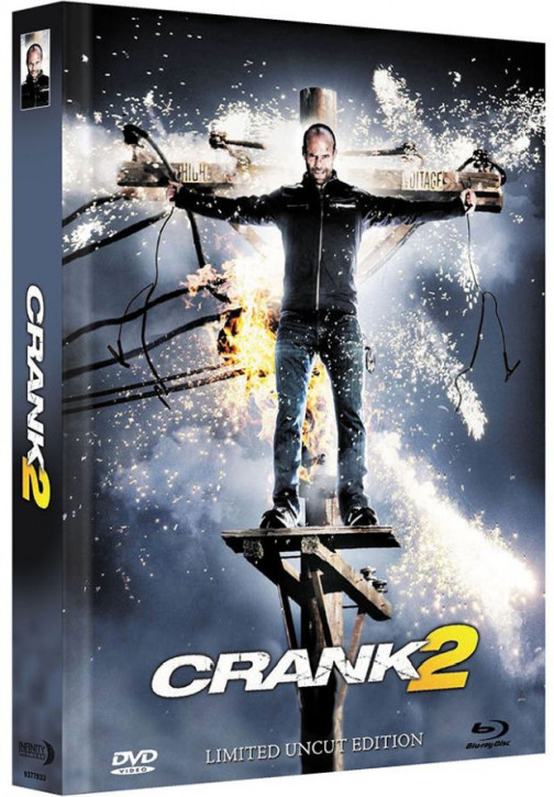 Crank 2 High Voltage - Limited Mediabook Edition - Cover B [Blu-ray+DVD]